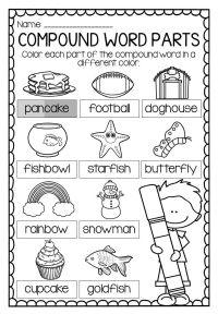 Compound Words Worksheets and Activities | Activities ...