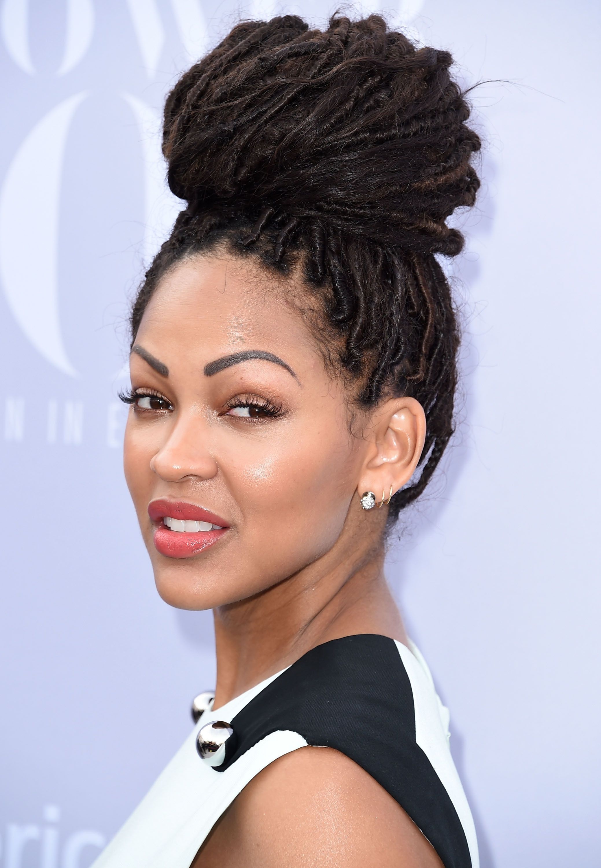10 Gorgeous dreadlocks hairstyles youll want to copy Meagan Good  Dreadlocks Locs and Faux locs