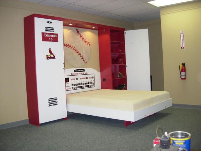 Kids Room Sport Decorating Ideas Baseball Theme