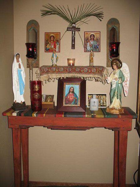 Catholic Home On Pinterest Catholic Altars And Family Life