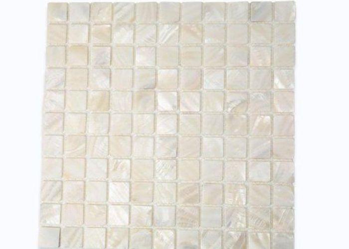 Mother of pearl oyster white tile by glasstilestore com http www also
