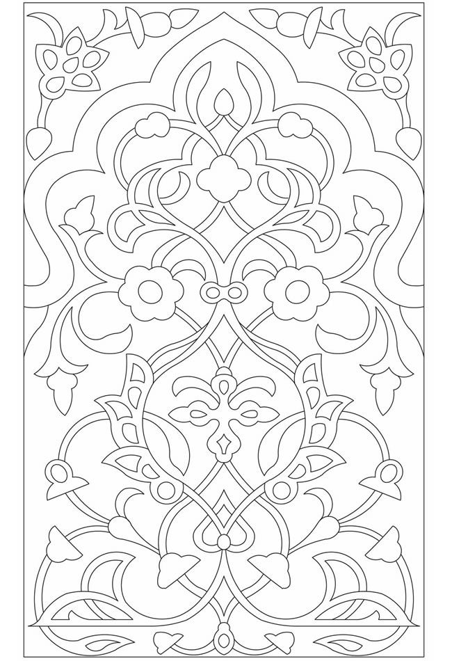 Coloring book pages I could spend time playing with even
