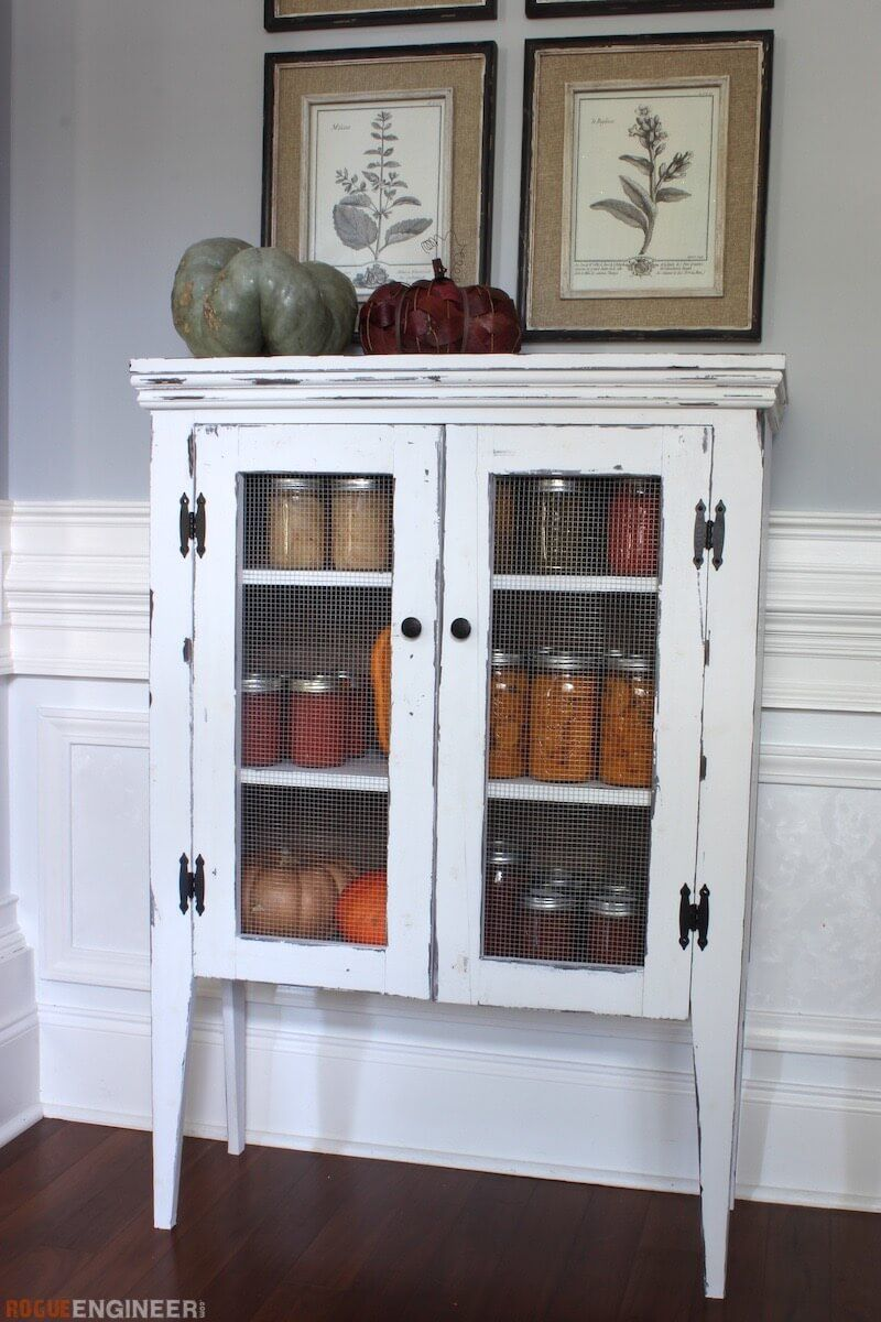 Jelly Cabinet  Free DIY Plans  Jelly cabinet Cabinet