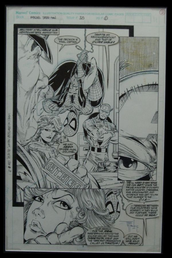 Of Influential Comic Book Artists Todd Mcfarlane Paper Pencil Ink And Pixels