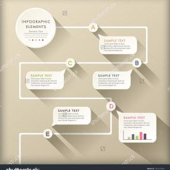 Flow Diagram Beautiful Design 1999 Ford F150 Speaker Wiring Vector Abstract Flat Chart Infographic