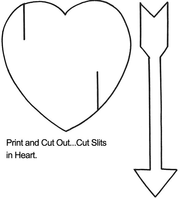 Arrow template to print