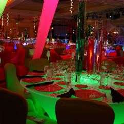 Christmas Chair Covers Pinterest Morris Cushions Sale Awesome Party Setup With The Snugly Fitted Spandex Table