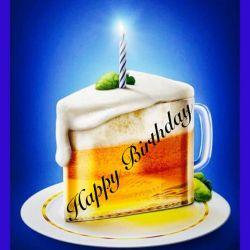 Happy Birthday Beer Clipart Birthday Clipart