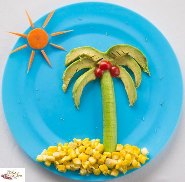 Salad Island Fun Healthy Food For Kids Big Amp Small