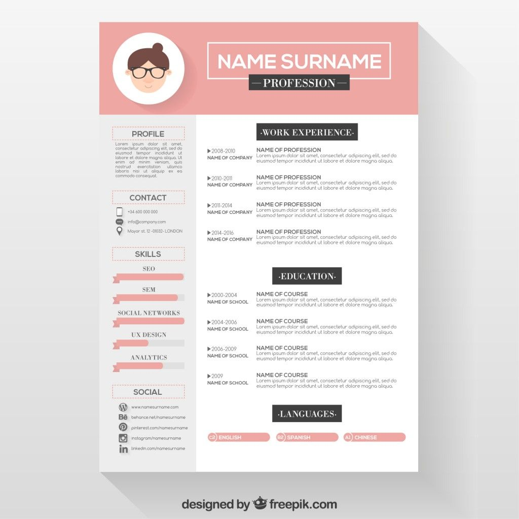 Graphic Design Student Resume Editable Cv Format Download Psd File Free Download Cv