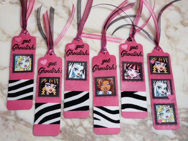 Monster High Bookmarks
