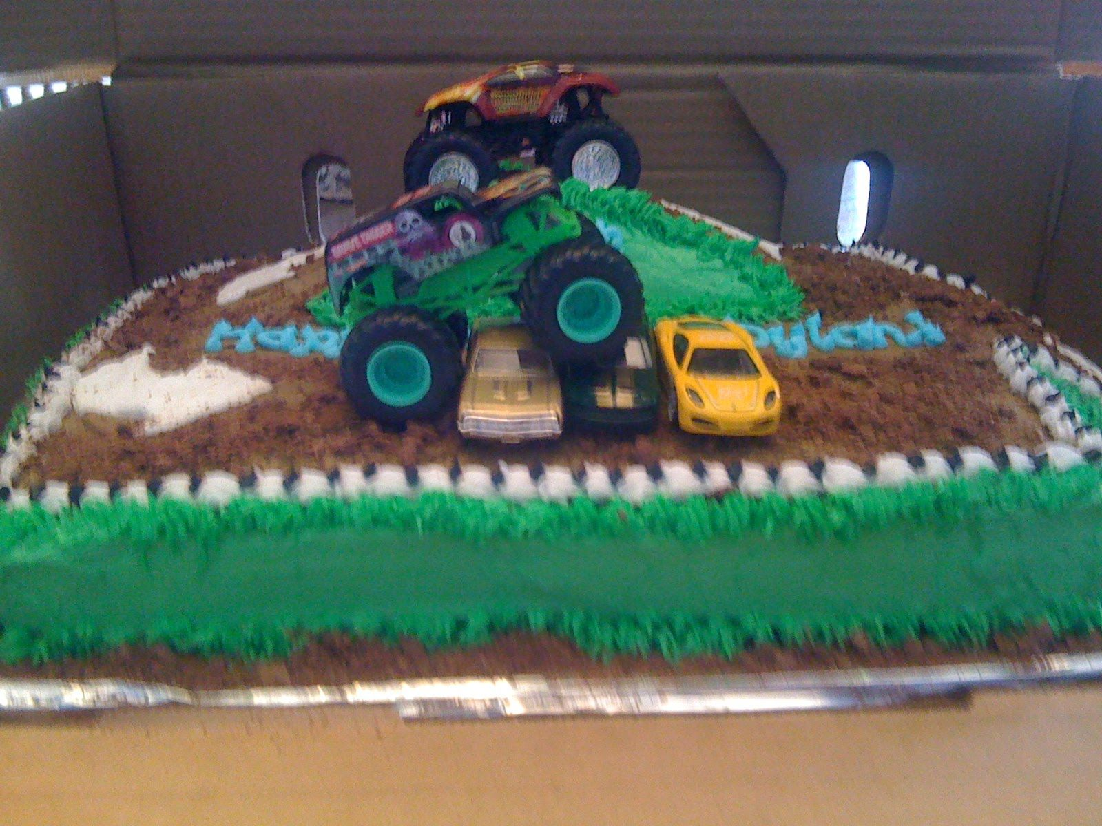 Monster Truck Cake Dylan S 6th Birthday