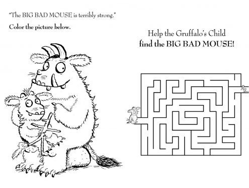 The Gruffalo Mouse Maze