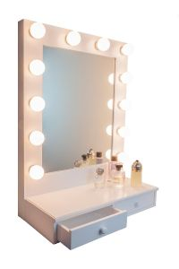 Ideas for Making your Own Vanity Mirror with Lights (DIY ...