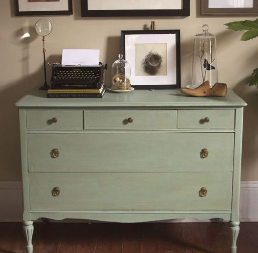 Customers Often Pick This Photo Out Of Annie Sloan S Book Quick Easy And Ask How Chalk Painted