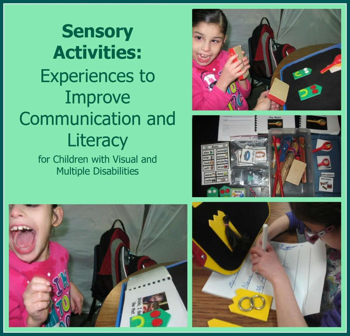 These Sensory Activities Help Children With Visual Impairments And Multiple Disabilities To