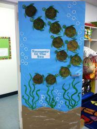 Summer classroom door | My amazing classroom | Pinterest ...