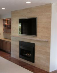 Sant Agostino 6 x 24 plank Travertine tile in beige on ...