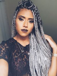 Pictures Of Black And Gray Hair Braids | hair trend alert ...