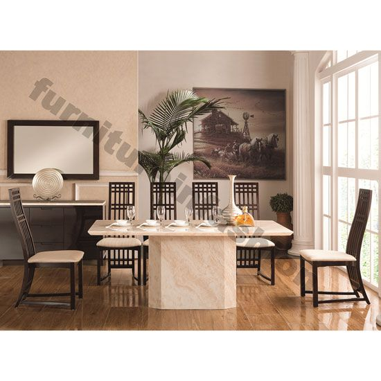 Granite dining room sets