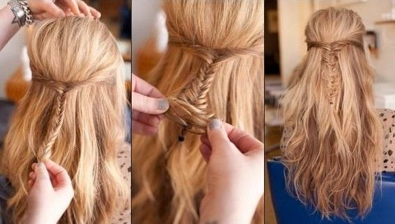 Cute Diy Hairstyles For School Bouffant Hairstyle Popular