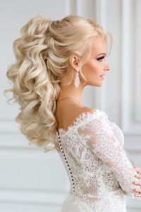33 Oh So Perfect Curly Wedding Hairstyles | Curly wedding ...