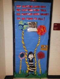 Anti bullying door