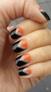 polish nail couture - black