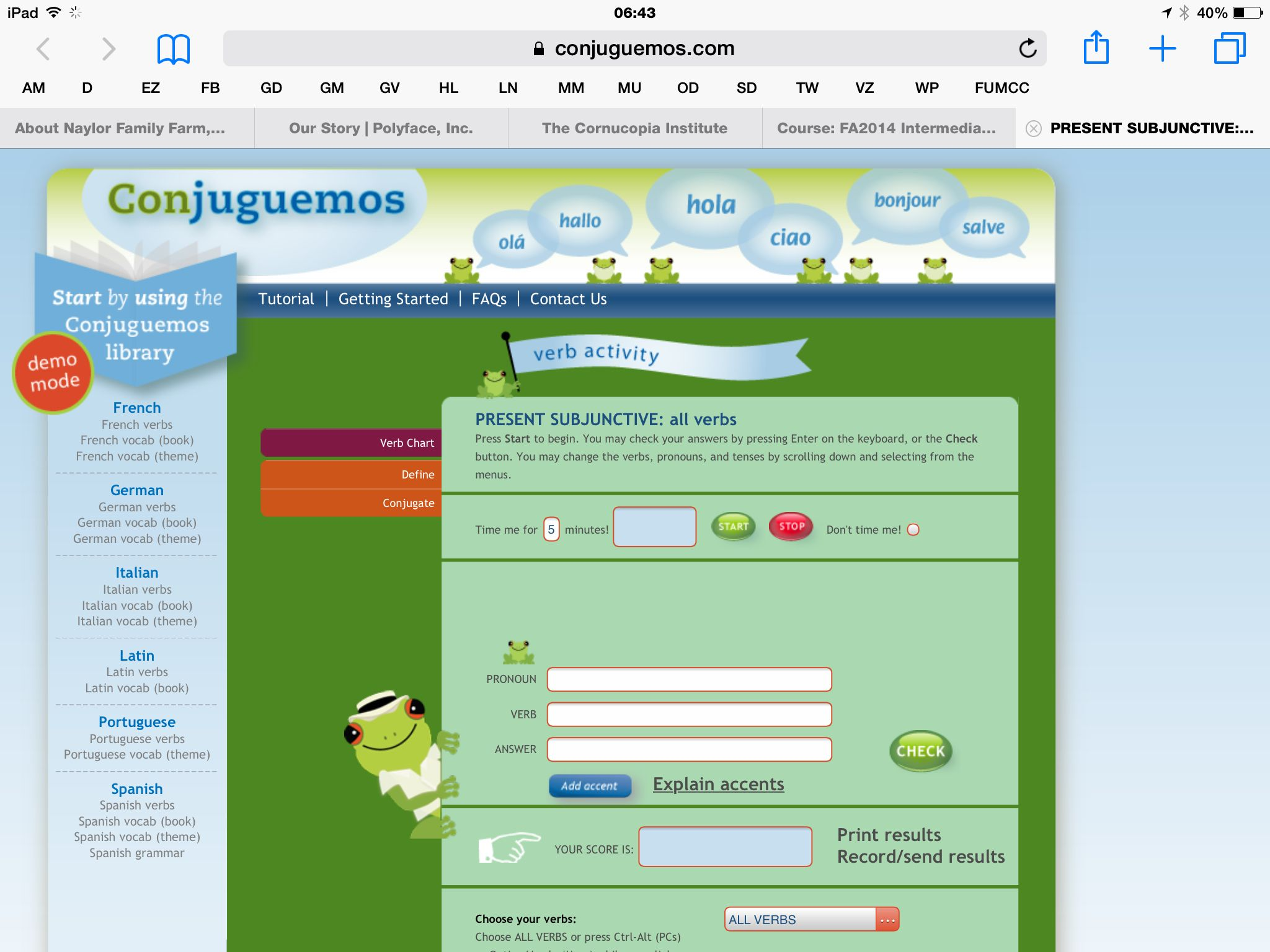 Conjuguemos Grammar Worksheet Answers Free Worksheets Library ...