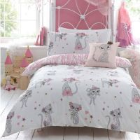 Cool Girls Bedroom Ideas Decorations: Sweet Cat Theme Teen ...