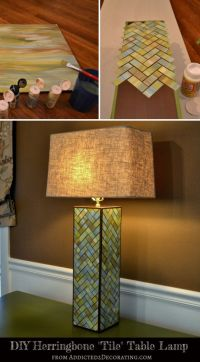 Watercolor Lamp Base | Crafts, tips and DIY | Pinterest ...