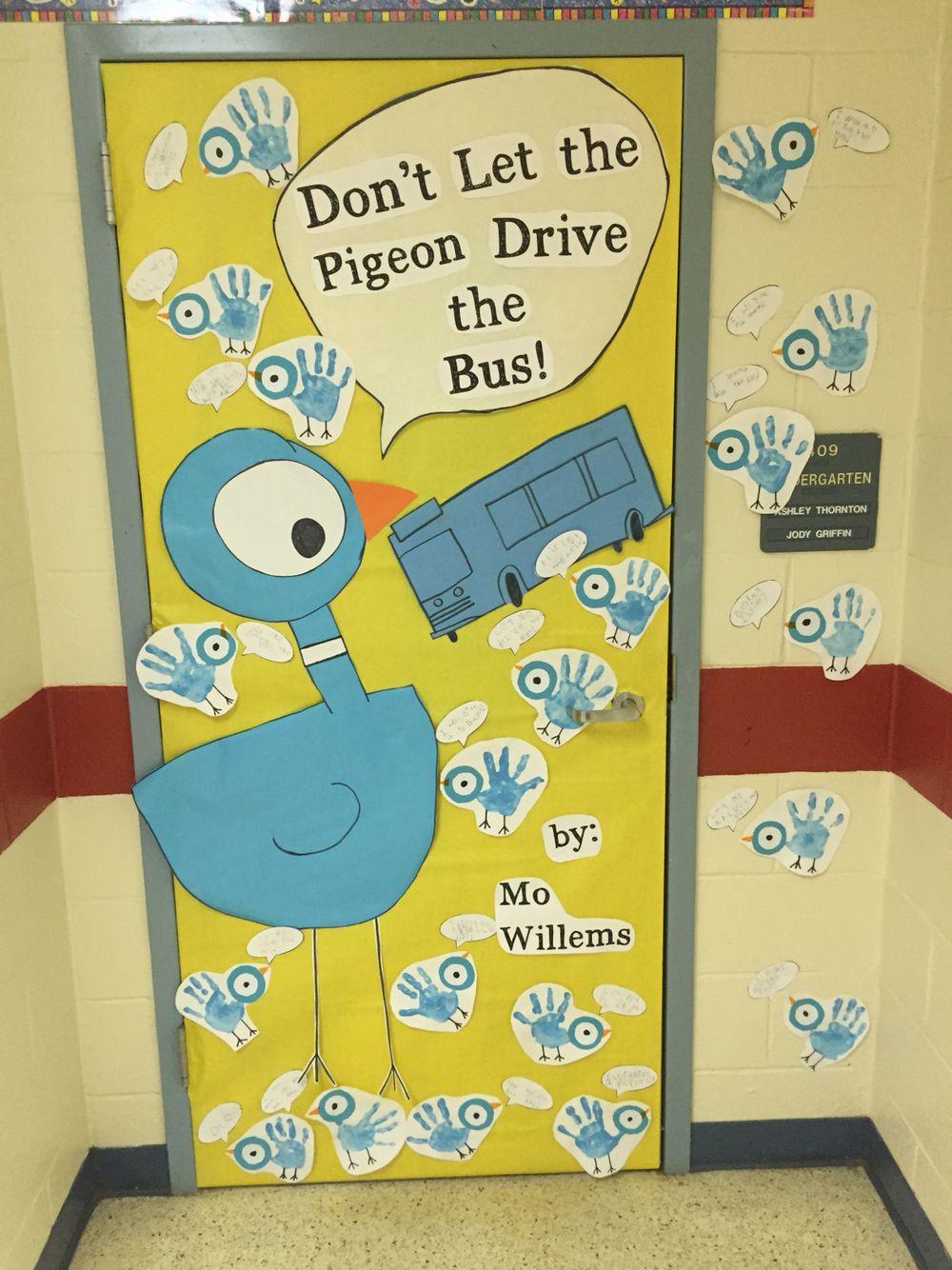 Read Across America favorite book classroom door