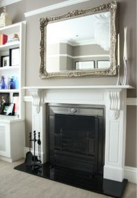 Mirror above fireplace   Home sweet home!   Pinterest ...
