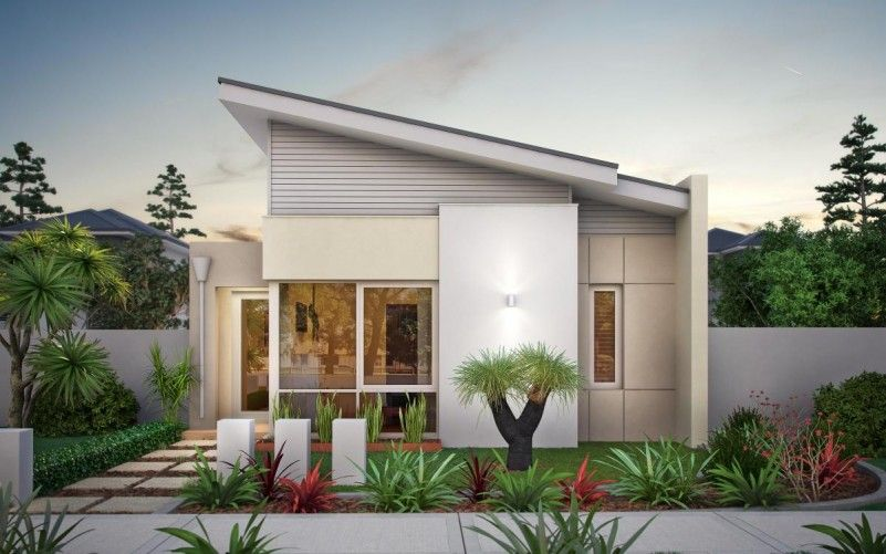 Elegant Home Design Single Story Plus Small Garden Ideas Add More