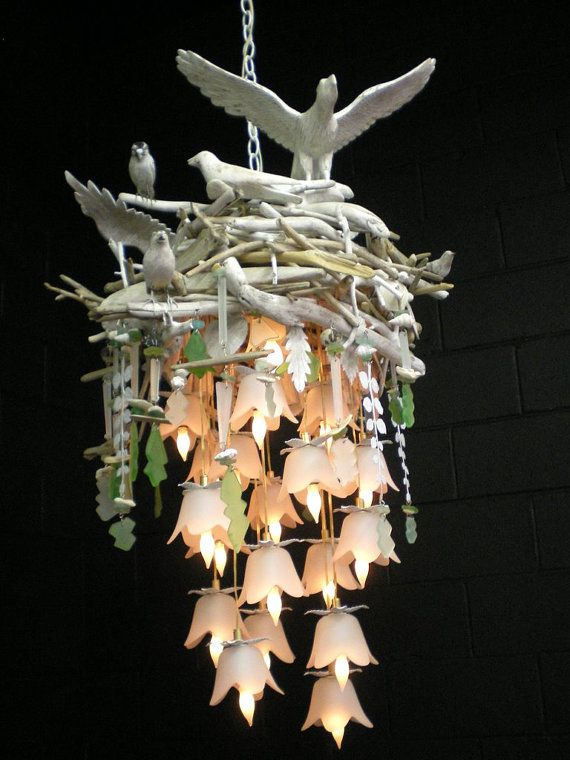Birds Nest Chandelier Absolutely Gorgeous