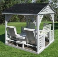 Covered Patio Swing | Difference between Porch Swings and ...