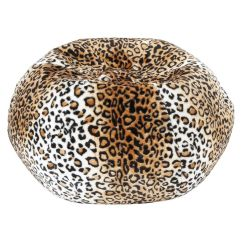 Cheetah Print Bean Bag Chair Director Covers Spotlight Animal Lounger New Room Ideas Pinterest