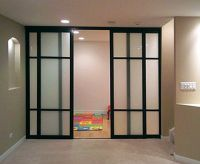 glass door home office | ... Dividers Office Partitions ...