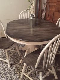 From simple Oak Table and Chairs to a Decorative 'Rustic ...