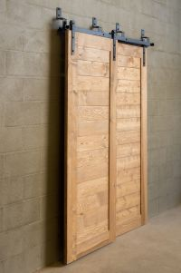 Bypass Sliding Barn Door for tight spaces $625 Hardware ...
