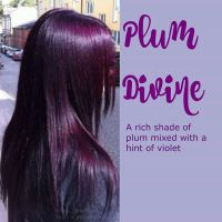 Plum divine hair color | Hair | Pinterest | Hair coloring ...
