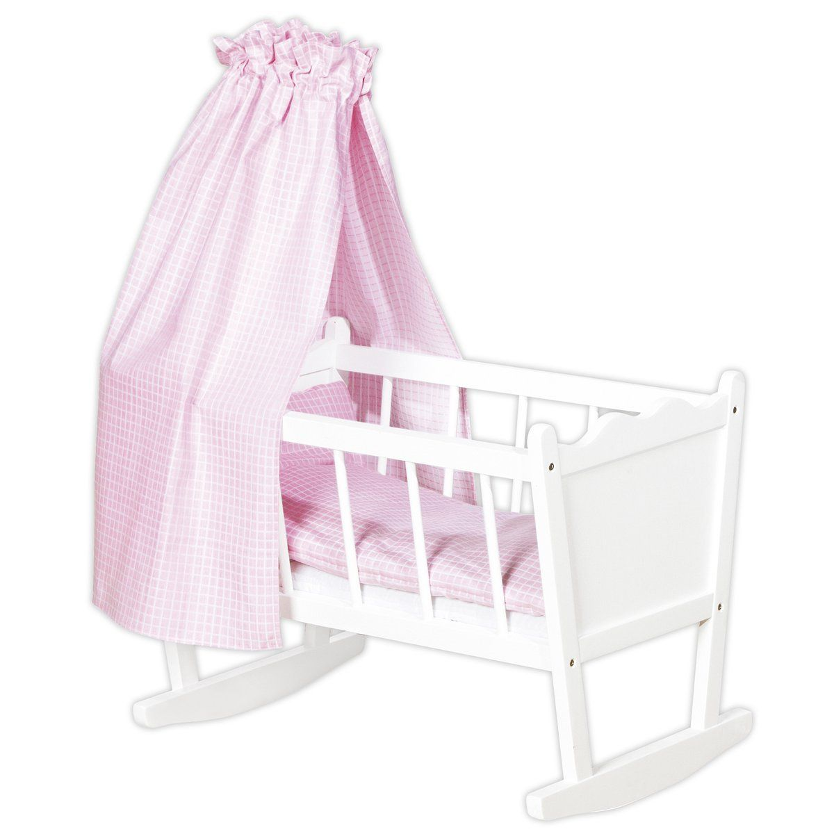 land of nod high chair doll back beach chairs australia pinolino 252414 puppenwiege merle weiß basteln kind