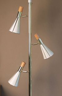 Very Large Ceiling to Floor Pole Lamp, 1960s Modernist ...