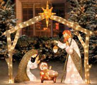 Nativity Scene Christmas Decorations | Scene, Christmas ...