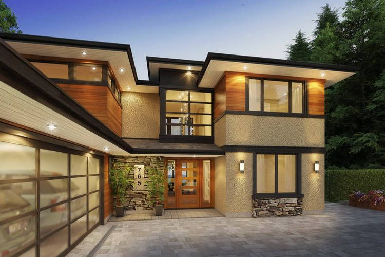 West Coast Contemporary Architectural Project  Pavel Denisov Design  Home ideas  Pinterest