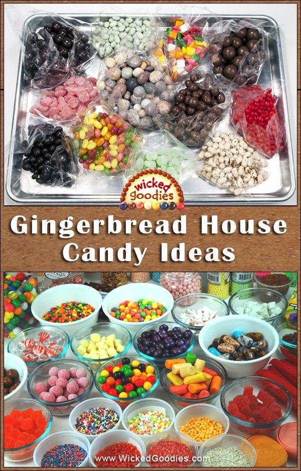 Gingerbread House Candy Ideas Joyeux Noël Pain Et Joyeux