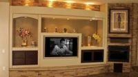 Captivating Corner Fireplace Entertainment Center ...