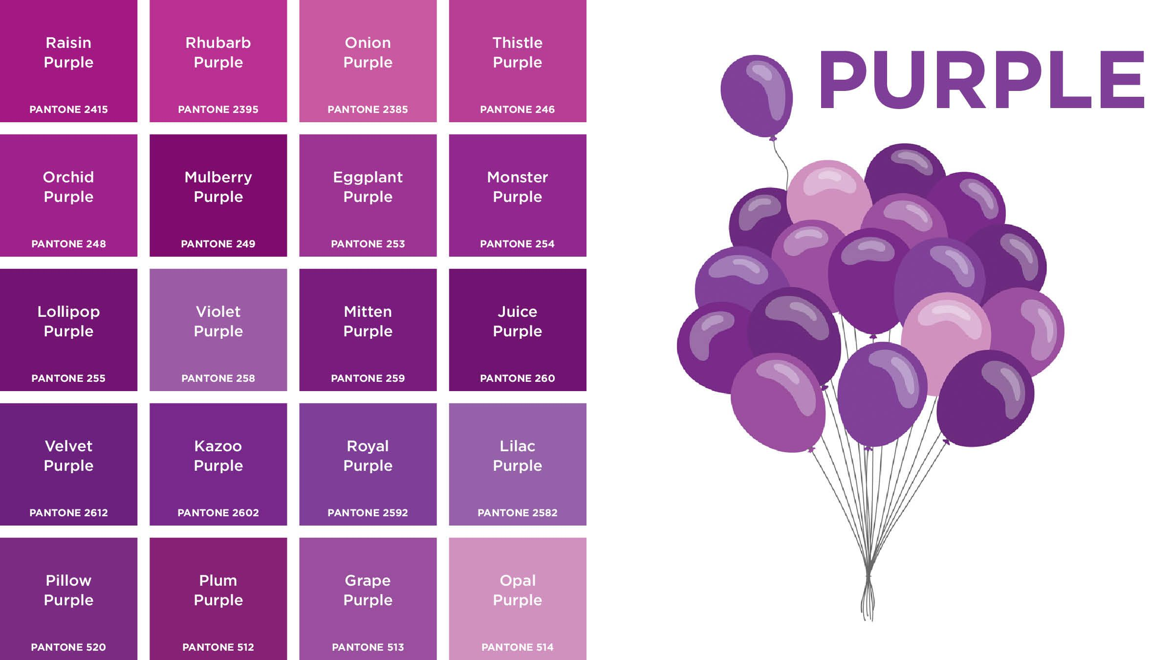 Purple Colors Names