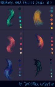 hair color palettes thespacegypsy