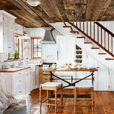 Love This Small Cottage Open Floor Plan Living Small Tiny House